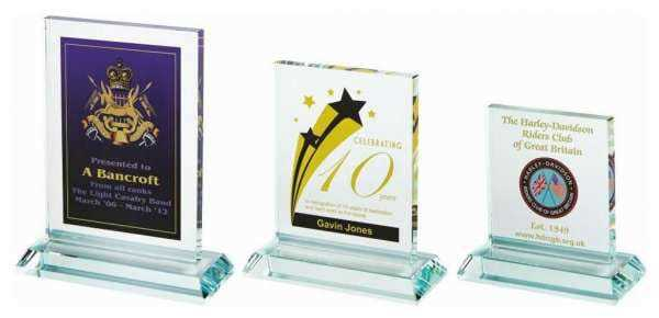 Crystal Block Award for Colour Printing