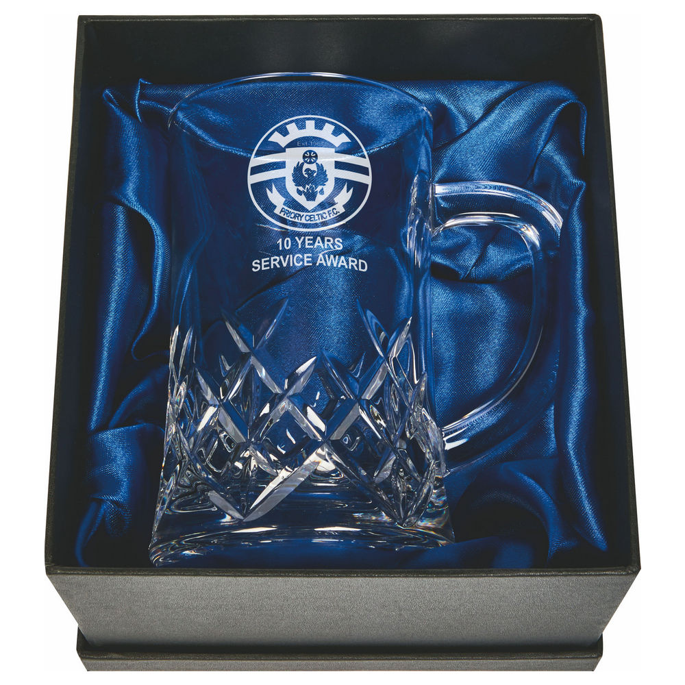 1 Pint Crystal Tankard in Box