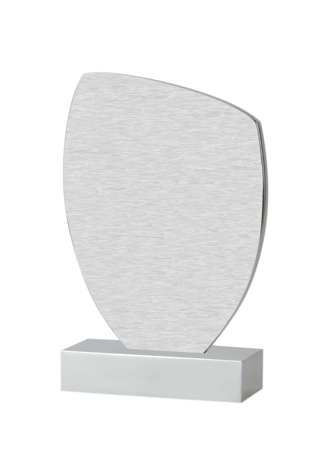 Satin Aluminium Shield Award