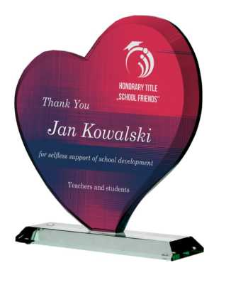 Jade Glass Heart Award