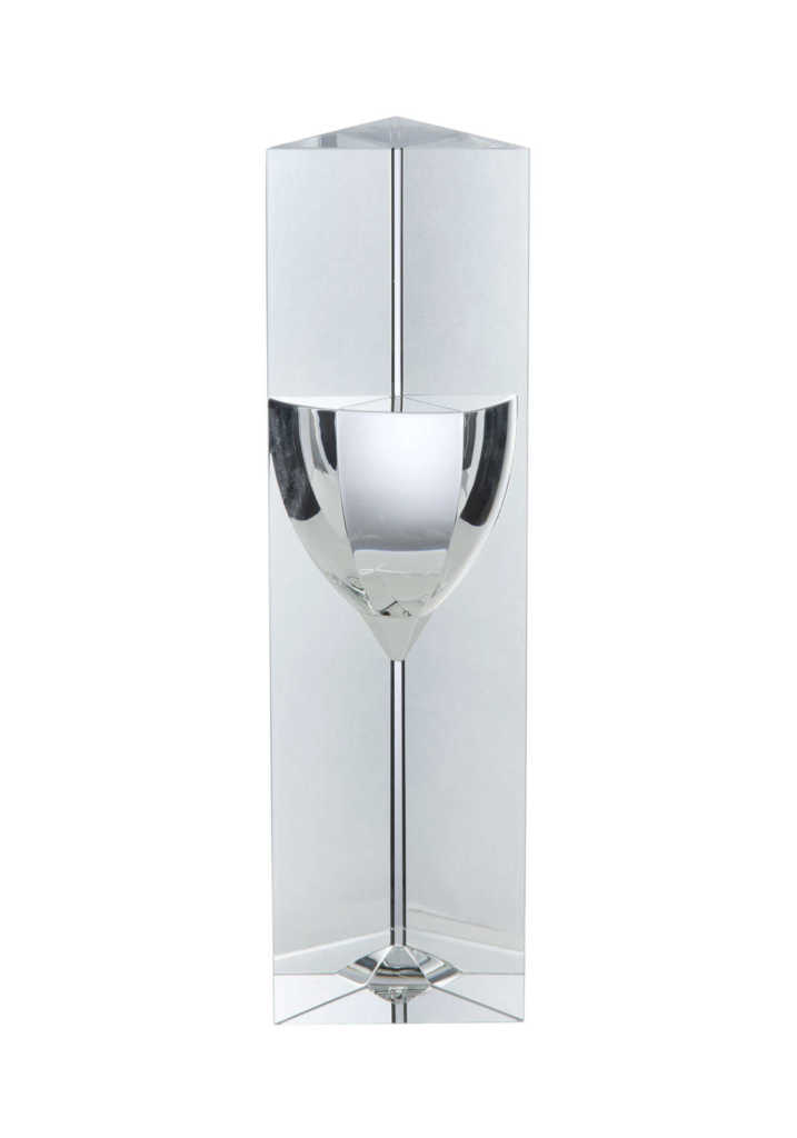 Crystal Wine Glass Award