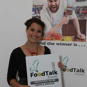 Food Talk Dibond Plaque Award