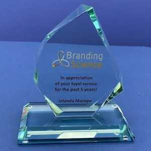 Branding Science Glass Award