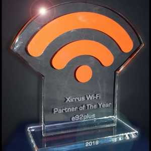 Xirrus Bespoke Glass Award